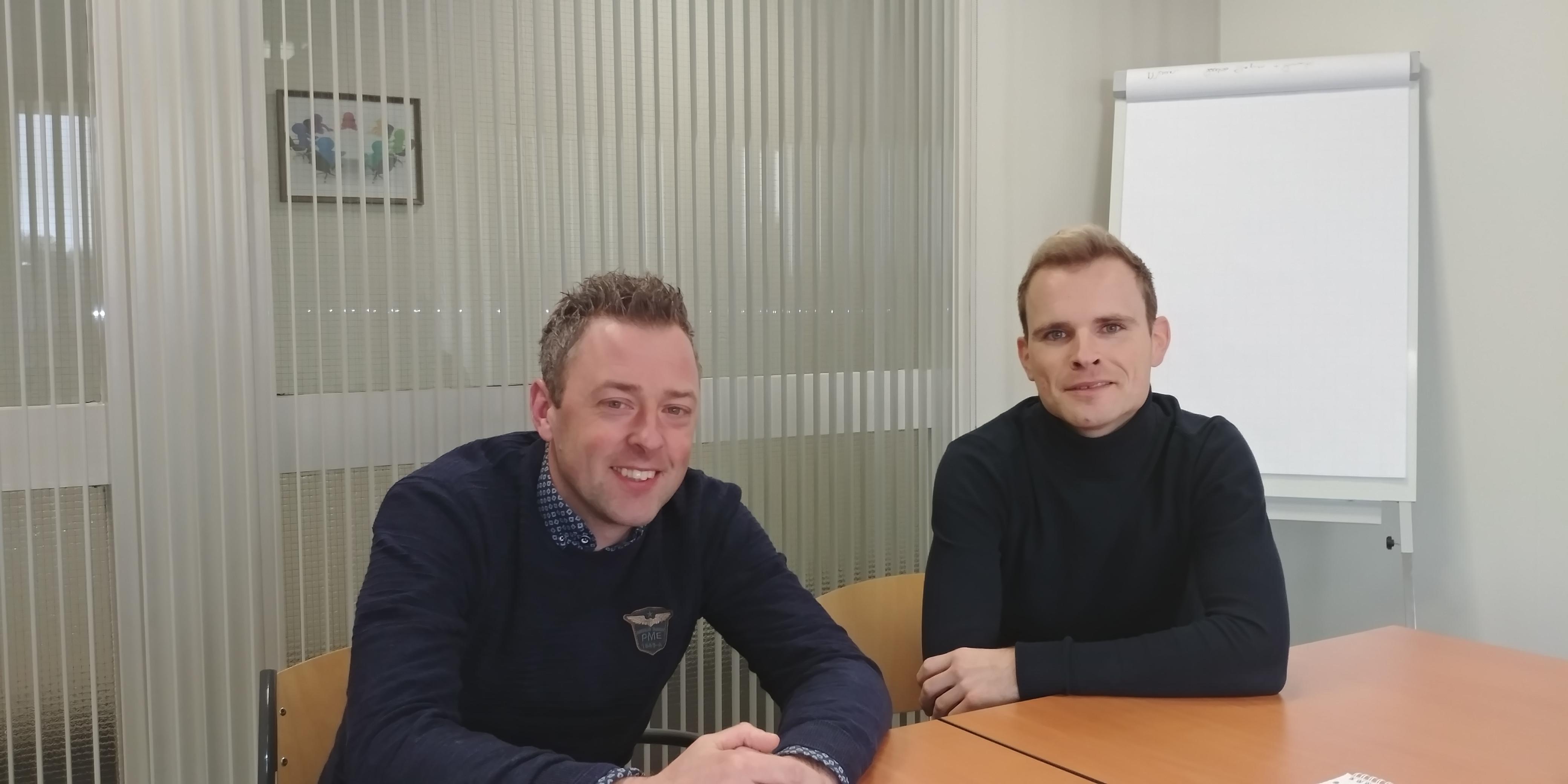 Nick Ter Haar En Herman De Lange Bedrijfsbureau Verduurzaming